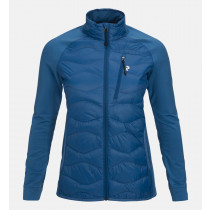 Peak Performance W Helium Hybrid Jacket Stream Blue