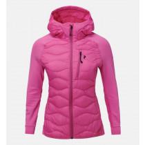 Peak Performance Women's Helium Hybrid Hood Jacket Vibrant Pink