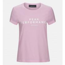 7b21649e Peak Performance Womens Original Tee Summer Pink Dame S M L Størrelser