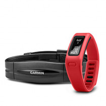 Garmin vivofit™ Rød med pulsmåler