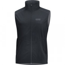 Gore Running Wear Essential Gore Windstopper Vest Black