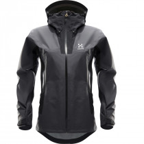 Haglöfs Kabi (K2) Jacket Women True Black/Magnetite