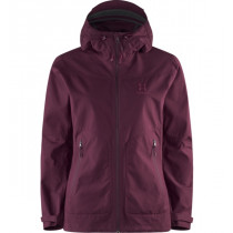 Haglöfs Trail Jacket Women Aubergine
