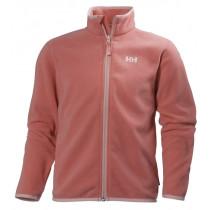 Helly Hansen Jr Daybreaker Fleece Jacket Shell Pink