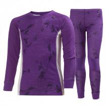 Helly Hansen Jr Warm Set 2 Sunburned Purple Symbios P