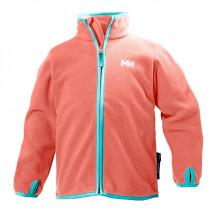 Helly Hansen Kids Daybreaker Fleece Jacket Shell Pink