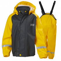 Helly Hansen Kids Voss Rainset Young Yellow