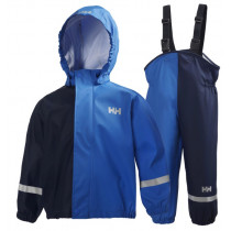 Helly Hansen Kids Voss Rainset Racer Blue