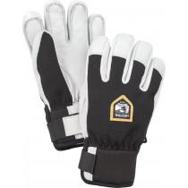 Hestra Army Leather Patrol Jr. - 5 Finger Svart