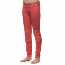 Houdini Junior's Alpha Long Johns Canned Cherry Pink