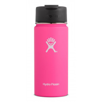 Hydro Flask 16 oz Wide Mouth W/Flip Lid Flamingo 16 oz