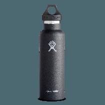 Hydro Flask Standard Mouth Black 21 oz