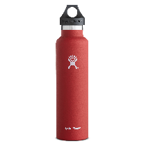 Hydro Flask Standard Mouth Lava 24 oz