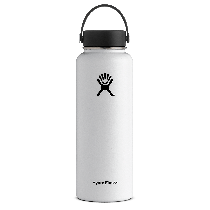 Hydro Flask Wide Mouth White 40 oz