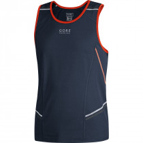 Gore Running Wear® Mythos 6.0 Singlet Black Iris/Orange