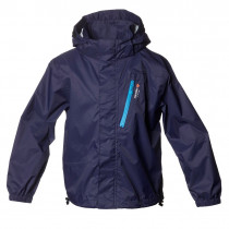 Isbjörn Of Sweden Light Weight Rain Jacket Kids Navyblue