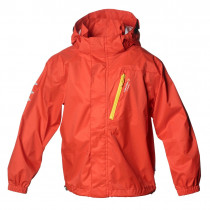 Isbjörn Of Sweden Light Weight Rain Jacket Kids Sunpoppy