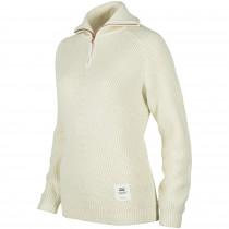 Johaug Now Knit Wool Half Zip Offwh