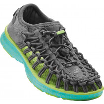 Keen Junior's Uneek O2 Neutral Gray/Viridian
