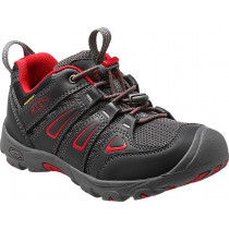 Keen Junior's Oakridge Low Wp Black/Tango Red