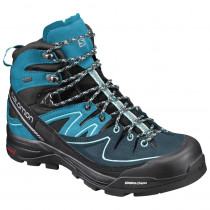 Salomon X Alp Mid Ltr GTX Women's Bk/Hawaiian O/Ablue