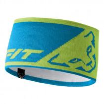 Dynafit Leopard Logo Headband Lime Punch UNI 58