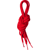Lundhags Shoe Laces 150 Cm Red