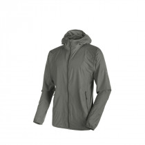 Mammut Crag Wb Hooded Jacket Men Titanium Melange