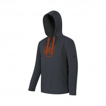 Mammut Logo ML Hoody Men Graphite-Dark Orange