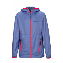 Marmot Girl's Ether Hoody Periwinkle/Bright Pink