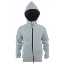 Matso Kids Fleece Polar Hoodie 1/1 Zipper Aquamarine/Dark Denim