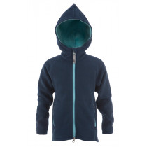 Matso Kids Fleece Polar Hoodie 1/1 Zipper Dark Denim/Blue Topaz