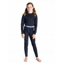 Matso Aksel Wool Set Underwear Charcoal Gray/Blue