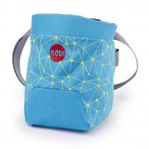 Moon Trad Chalk Bag Galaxy Blue/Punch