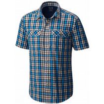 Mountain Hardwear Canyon AC Short Sleeve Shirt Dark Compass