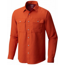 Mountain Hardwear Canyon Long Sleeve Shirt Bonfire