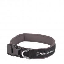 Mountain Paws Halsbånd, Dog Collar Black L