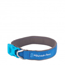 Mountain Paws Halsbånd, Dog Collar Blue L