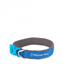 Mountain Paws Halsbånd, Dog Collar Blue M