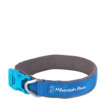 Mountain Paws Halsbånd, Dog Collar Blue XL