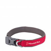 Mountain Paws Halsbånd, Dog Collar Red L