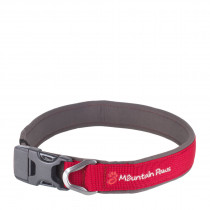 Mountain Paws Halsbånd, Dog Collar Red XL