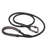 Mountain Paws Hundebånd Tau, Rope Dog Lead Black