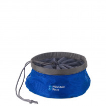 Mountain Paws Matskål, Collapsible Dog Food Bowl Blue S