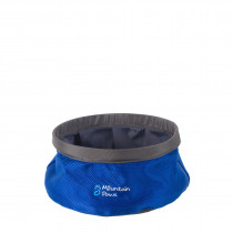 Mountain Paws Vannskål, Collapsible Water Bowl Blue S