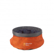 Mountain Paws Vannskål, Collapsible Water Bowl Orange S