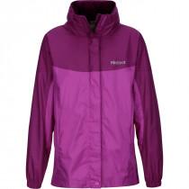 Marmot Girl's Precip Jacket Neon Berry/Grape