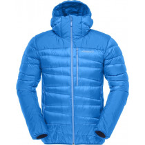 Norrøna Falketind Down750 Hood Jacket Men's Hot Sapphire