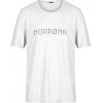 Norrøna /29 Cotton Norrøna T- Shirt (M) Grey Melange