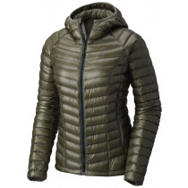 Mountain Hardwear Ghost Whisperer Hooded Down Jacket Green Fade